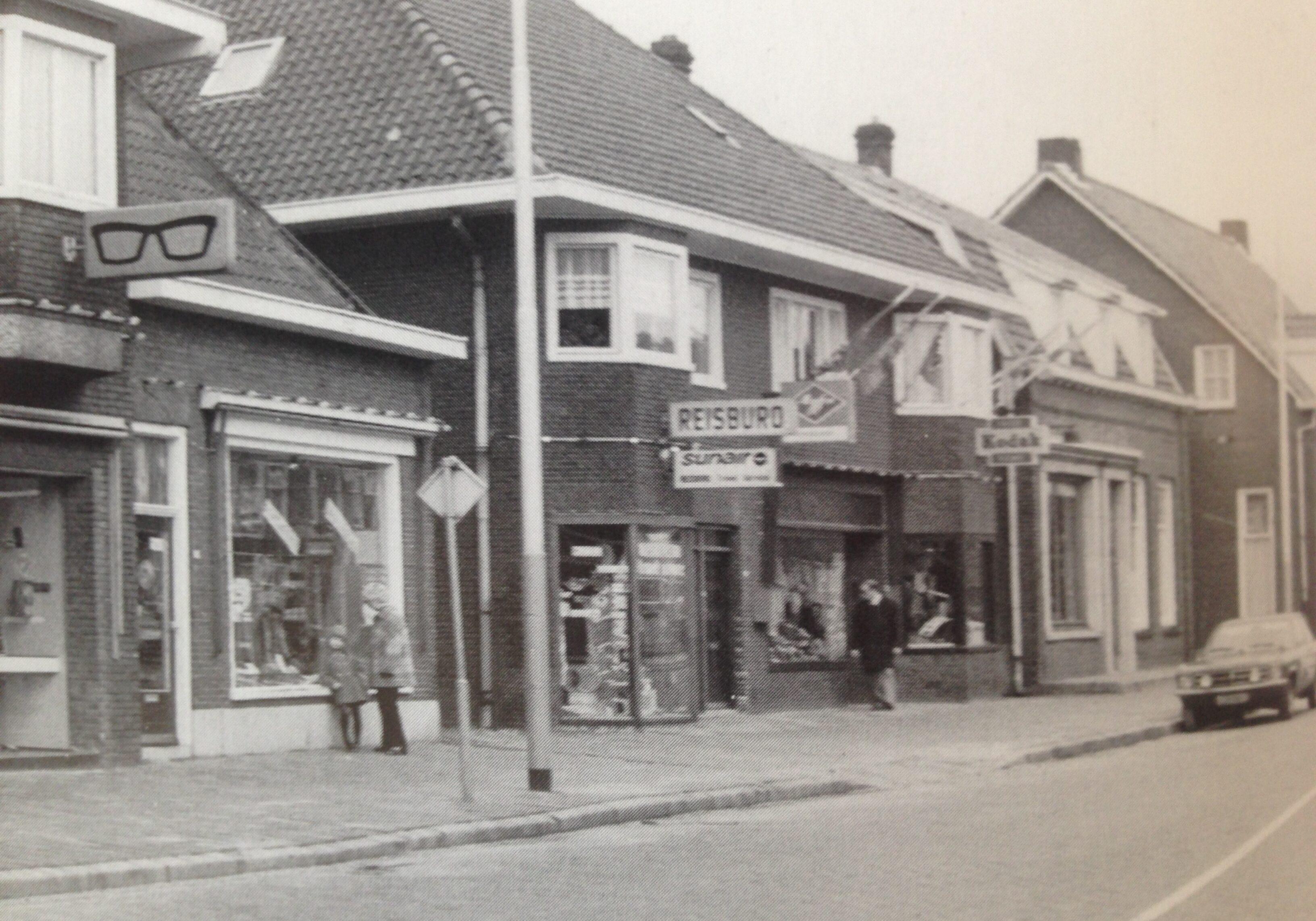 Start in 1977 aan de hoofstraat.